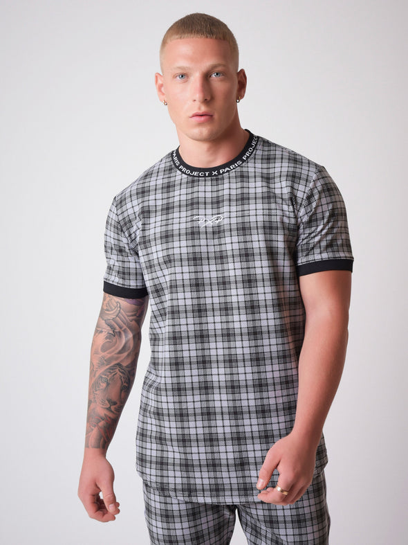 Short Sleeves Elsticated Black