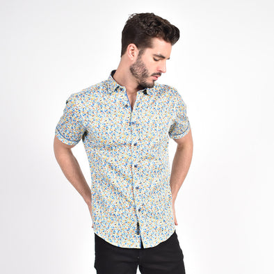 Summer Melody Floral Print Shirt