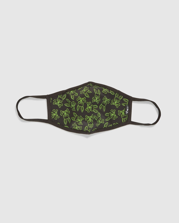PB Face Masks Unisex - Black Green