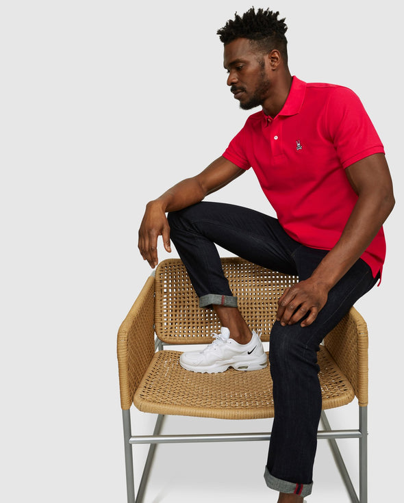 Men's Classic Polo - Punch