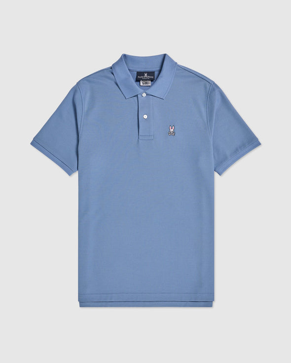 Men's Classic Polo - Harbor Blue