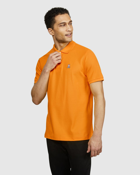 Men's Classic Polo - Festive Orange