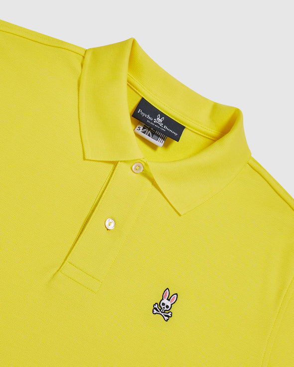Men's Classic Polo - Lemon Tonic