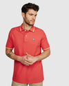 Men's Polo Norbury - Diva Pink