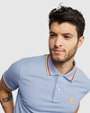 Men's Polo Kilburn  - Lapis Blue