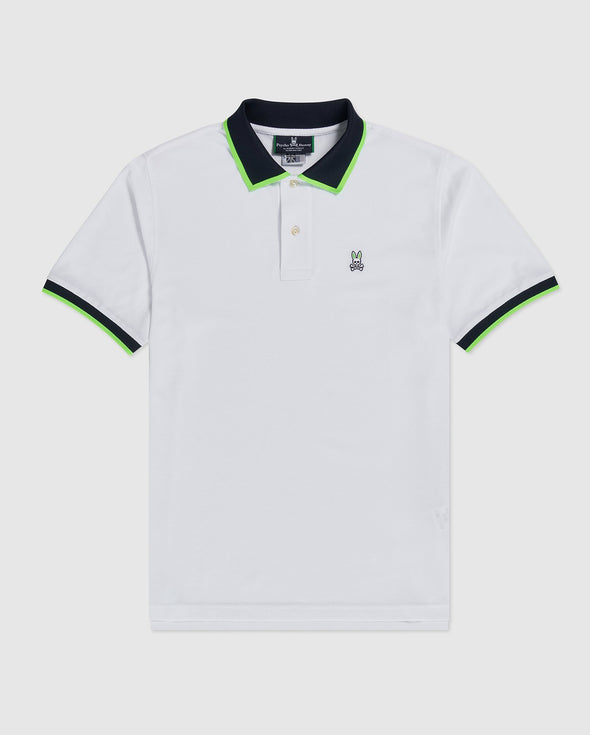 Men's Polo Ripley - White