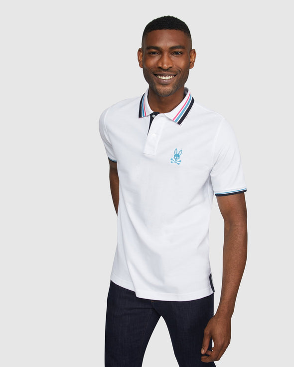 Men's Polo Millton - White
