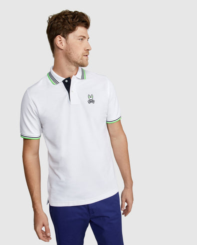 Men's Polo Ashbourne  - White