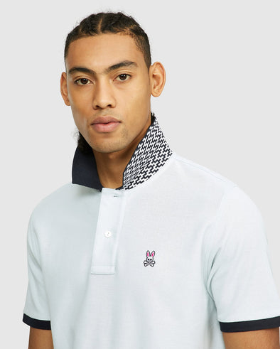 Men's Dorset Polo - Forgetmenot