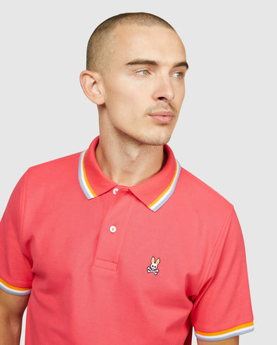 Men's Bower Polo - Camelia