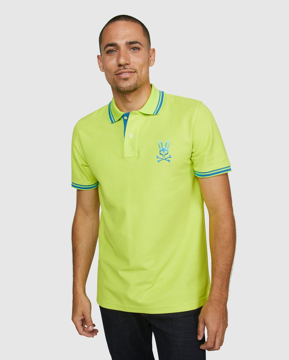 Men's Polo Milburn - Lime