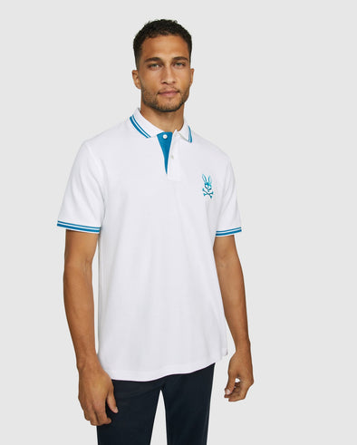 Men's Polo Milburn - White