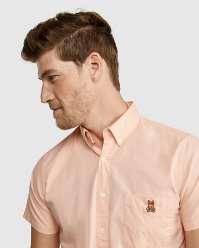 Men's Shirt Atmore Oxford - Neon Flame