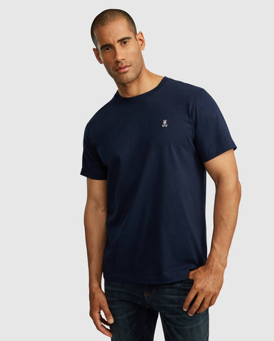 Men's Crew Neck Tee - Navy