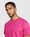 Men's Crew Neck - Pink Yarrow