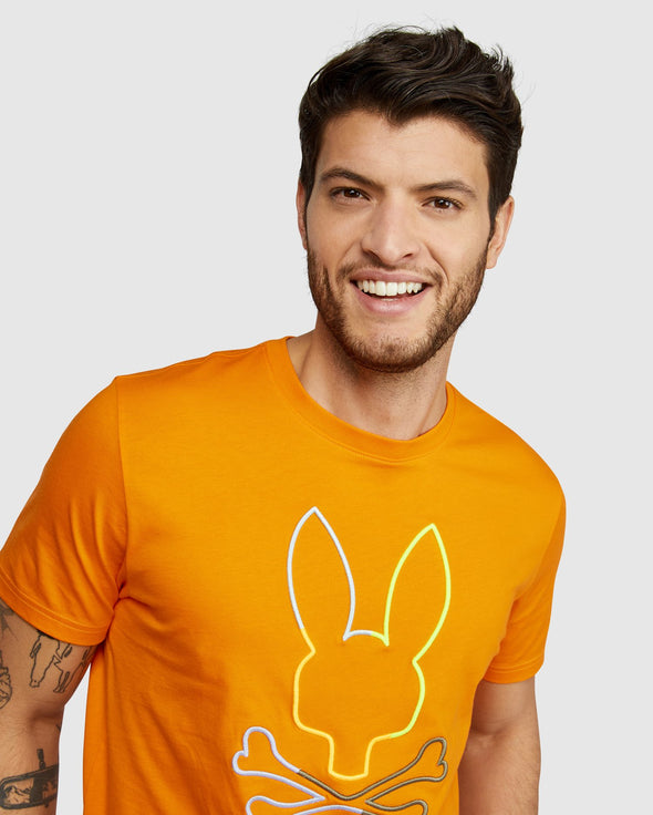 Men's Graphic Tee Sheffield - Festive Orange