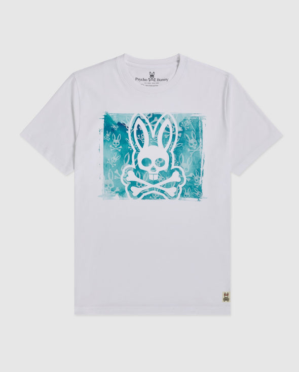 Men's Graphic Tee Haley - White