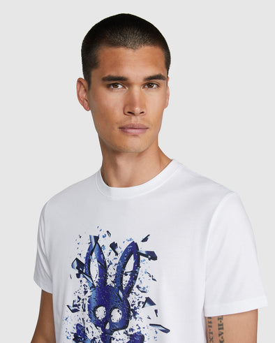 Men's Graphic Tee Seymour - White
