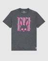 Men's Graphic Crew Neck Tee Haines- Heather Storm