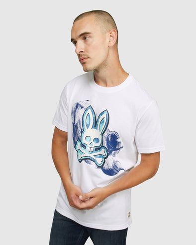 Men's Whitstable Graphic Tee - White