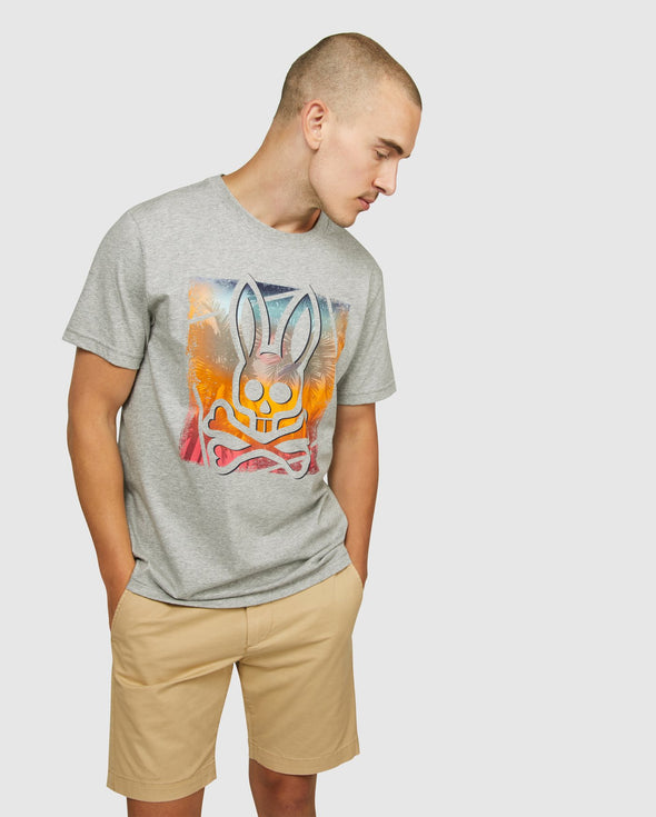 Men's Storm Graphic Tee - Grey