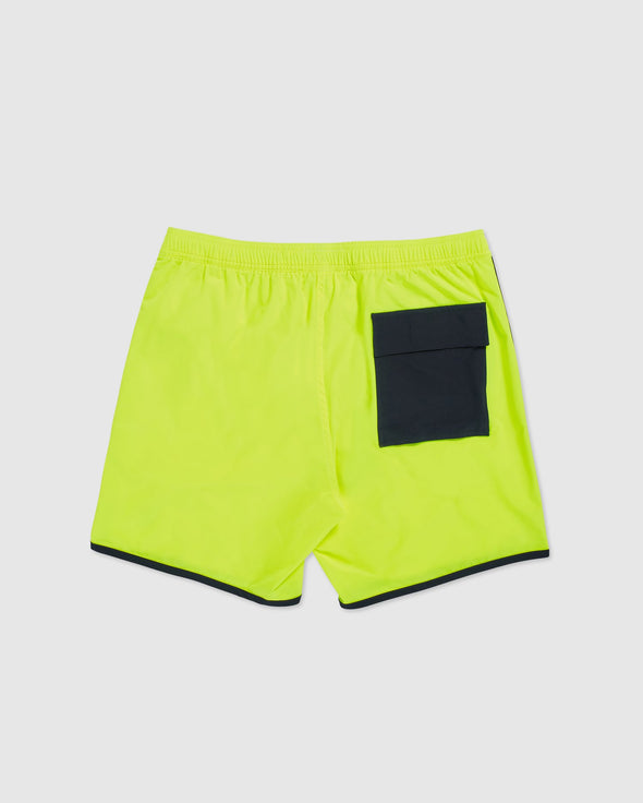 Men's Swim Trunks Holloway- Safety Yellow