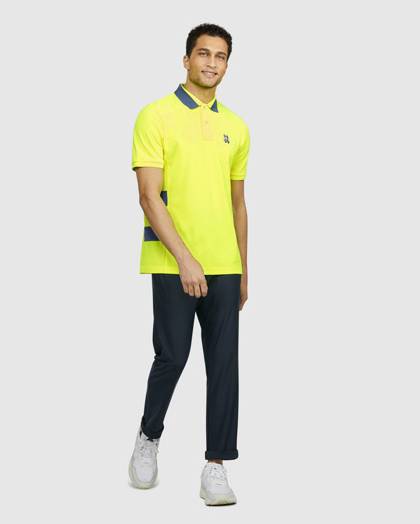 Men's Polo Hackney Sport - Safety Yellow