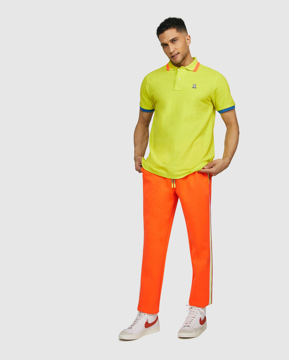 Men's Polo Hayfield  - Limelight
