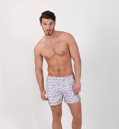 Polar Plunge Print Trunks