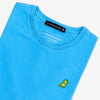 Classic Frenchie T-shirt - Blue/Neon Yellow