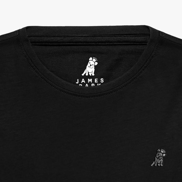 Classic Frenchie T-shirt - Black/Gray
