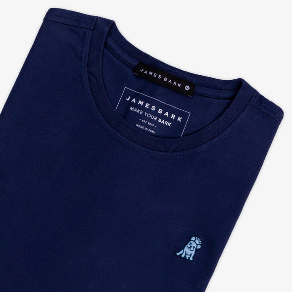 Classic Frenchie T-shirt - Navy/L Blue