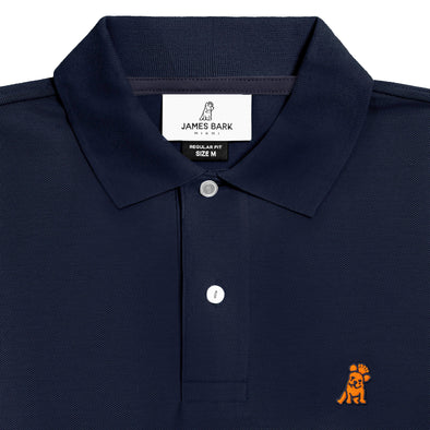 Classic Frenchie - Navy/Orange