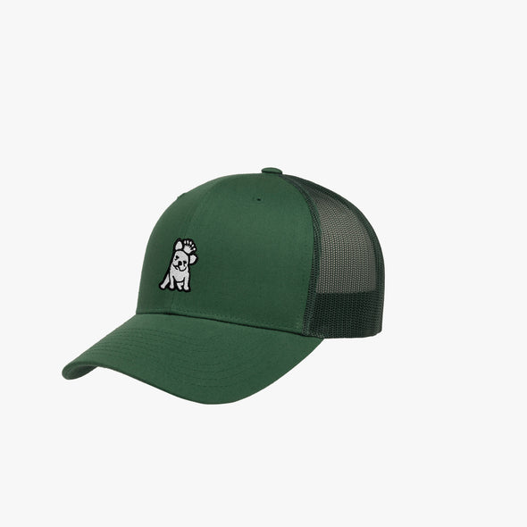 James Bark Retro Trucker Cap - Green