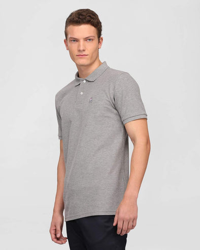 Men's Classic Polo - Heather Grey