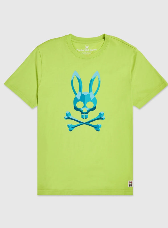 Men's Graphic Tee Kendal - Lime