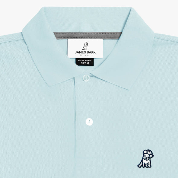 Classic Frenchie - Light Blue/White