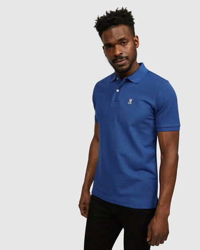 Men's  Classic Polo - Prussian