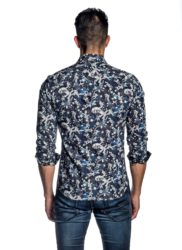 Navy Outer Space Shirt