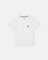 Boys Crew Neck - White