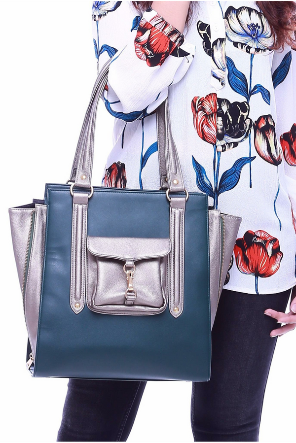 Zara Tote in Green - Bob Rock LoveLily