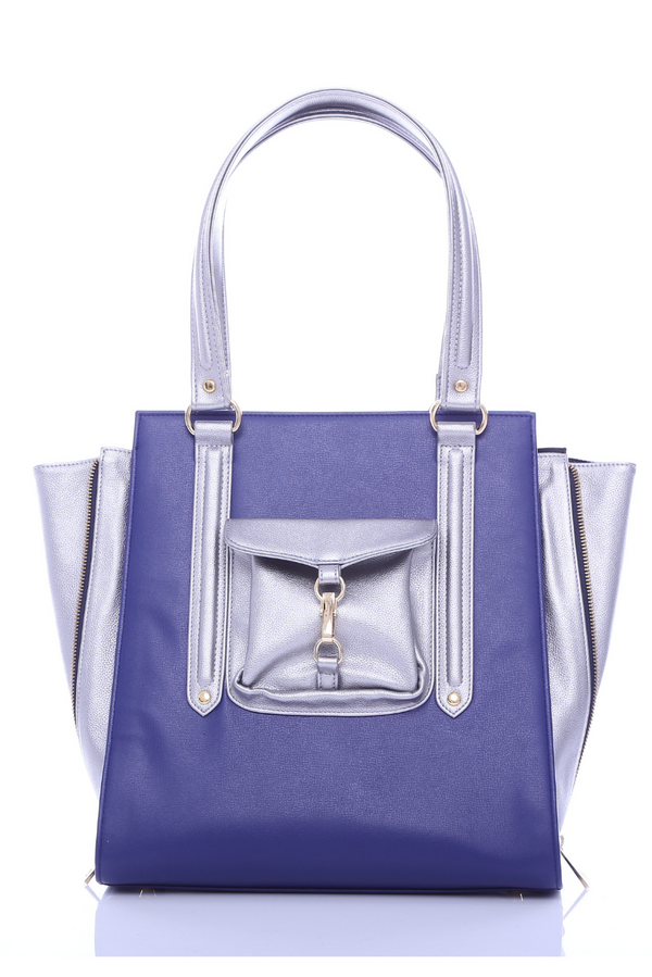 Zara Tote in Blue - Bob Rock LoveLily