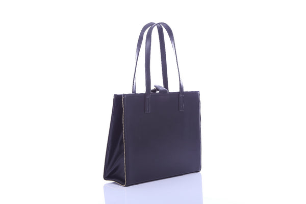 Effy Document Bag in Black - Bob Rock LoveLily