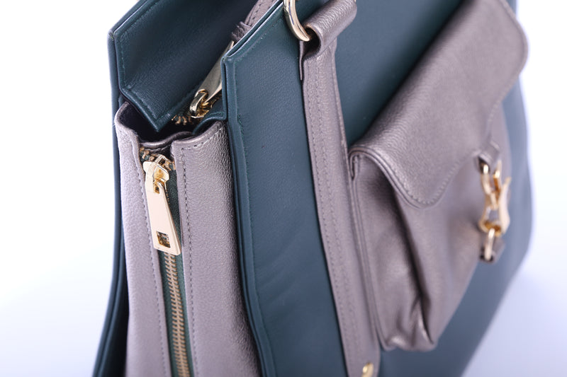 Exclusive Zara Tote in Green