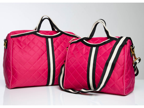 Signature Kate Travel Bag in Pink #Color_Pink