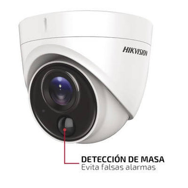 Hikvision Cámara Dome FLASH TURBOHD 2 Mp PIR - APE-Plazas