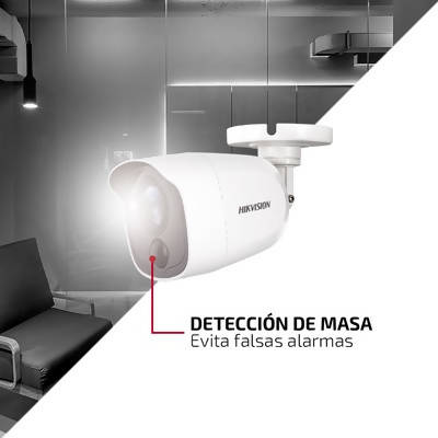Hikvision Cámara Bullet FLASH TURBOHD 2 Mp PIR - APE-Plazas