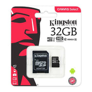 Kingston Memoria Micro Sd 32gb Clase 10 - APE-Plazas