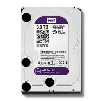 Disco Duro WD Purple 3TB para DVR - APE-Plazas
