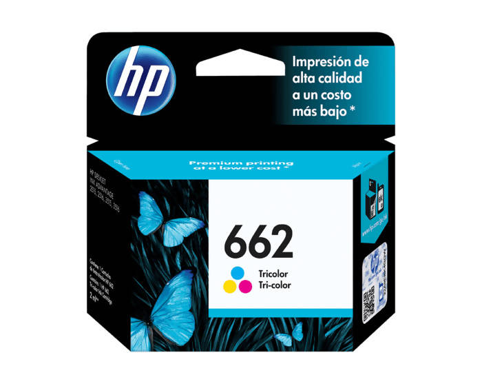 Cartucho Hp 662 Tri-Color - APE-Plazas